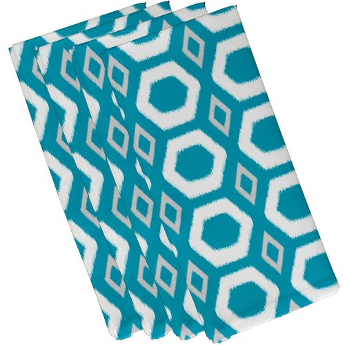 e by design More Hugs and Kisses Geometric Napkin (Set of 4)