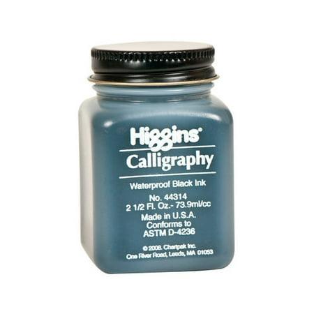 Chartpak Sn44314 Waterproof Black Calligraphy Ink