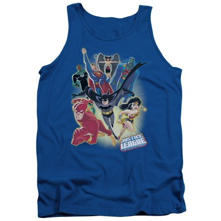 Justice League DC Comics Unlimited Adult Tank Top Shirt