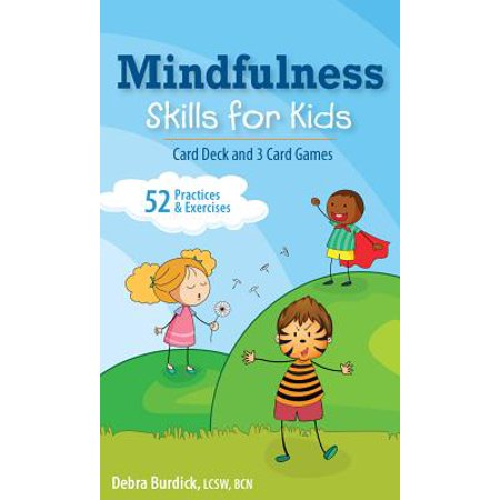 Mindfulness Skills for Kids Card Deck and 3 Card Games