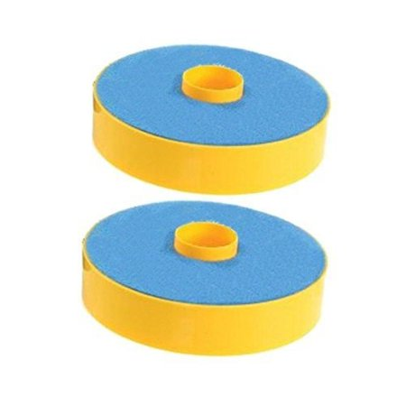 SHP-ZONE 2 Primary Washable Blue Foam Filters for Dyson DC07 Carpet Vacuum Cleaner , Generic For Dyson Part 904979-02. 2 Pack ()