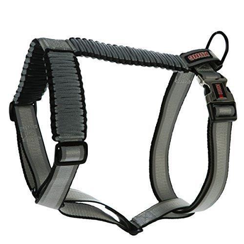 KONG Reflective Paracord Harness Grey MEDIUM