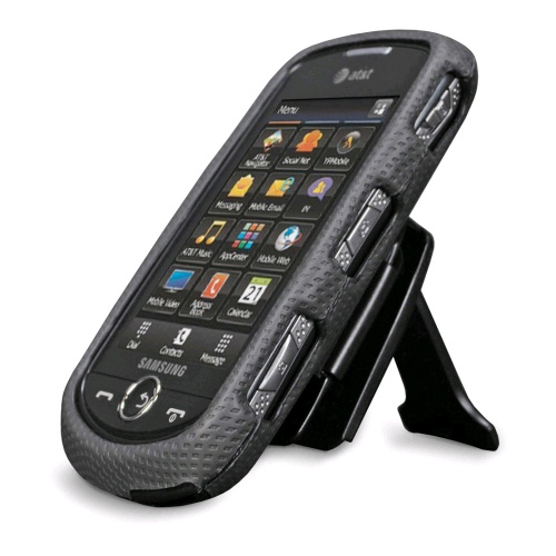 Body Glove - Snap-On Case with Clipstand for Samsung Solstice II SGH-A817 - Black