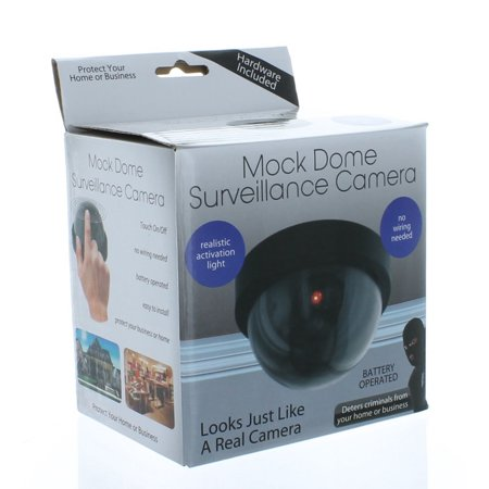 Mock Dome Surveillance Fake Security Camera Home Business Protection