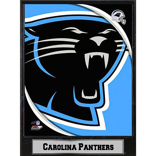 NFL Carolina Panthers Photo Plaque, 9x12