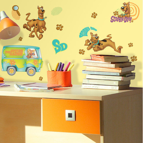 Scooby Doo Peel and Stick Wall Decals