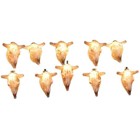 Cow Womens Light (Kurt Adler UL 10-Light Cow Skull Light)