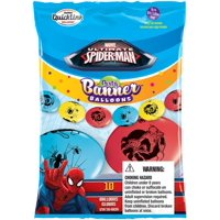 """Party Supplies - Pioneer Banner Balloons10 ct 12"""" Marvel's SpiderMan 11219"""