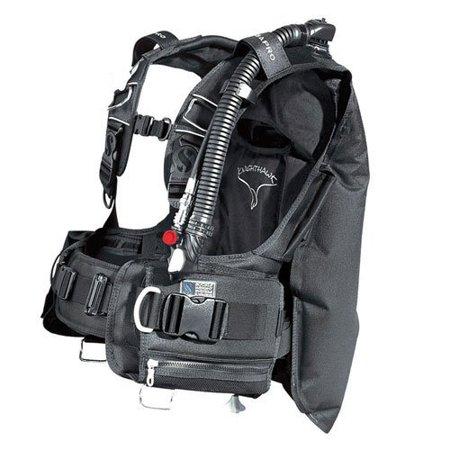 Scubapro Knighthawk BCD w/Balanced Inflator - Black (Scubapro Knighthawk Bc)