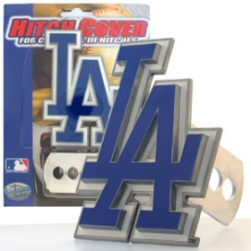 Los Angeles Dodgers Trailer Hitch Cover - Logo