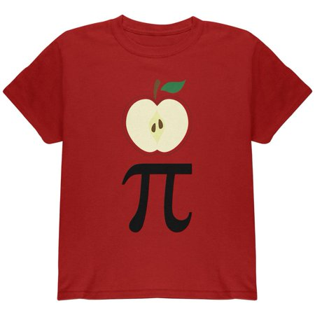 Halloween Math Pi Costume Apple Day Youth T Shirt
