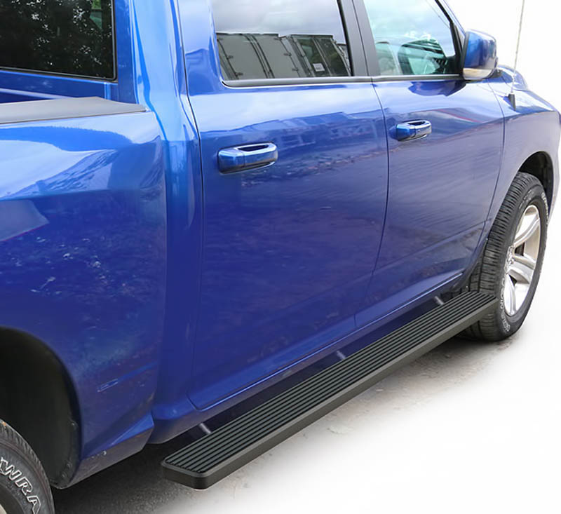 2005-2018 Nissan Frontier Crew Cab 5 Inch Matte Black iStep Side Step