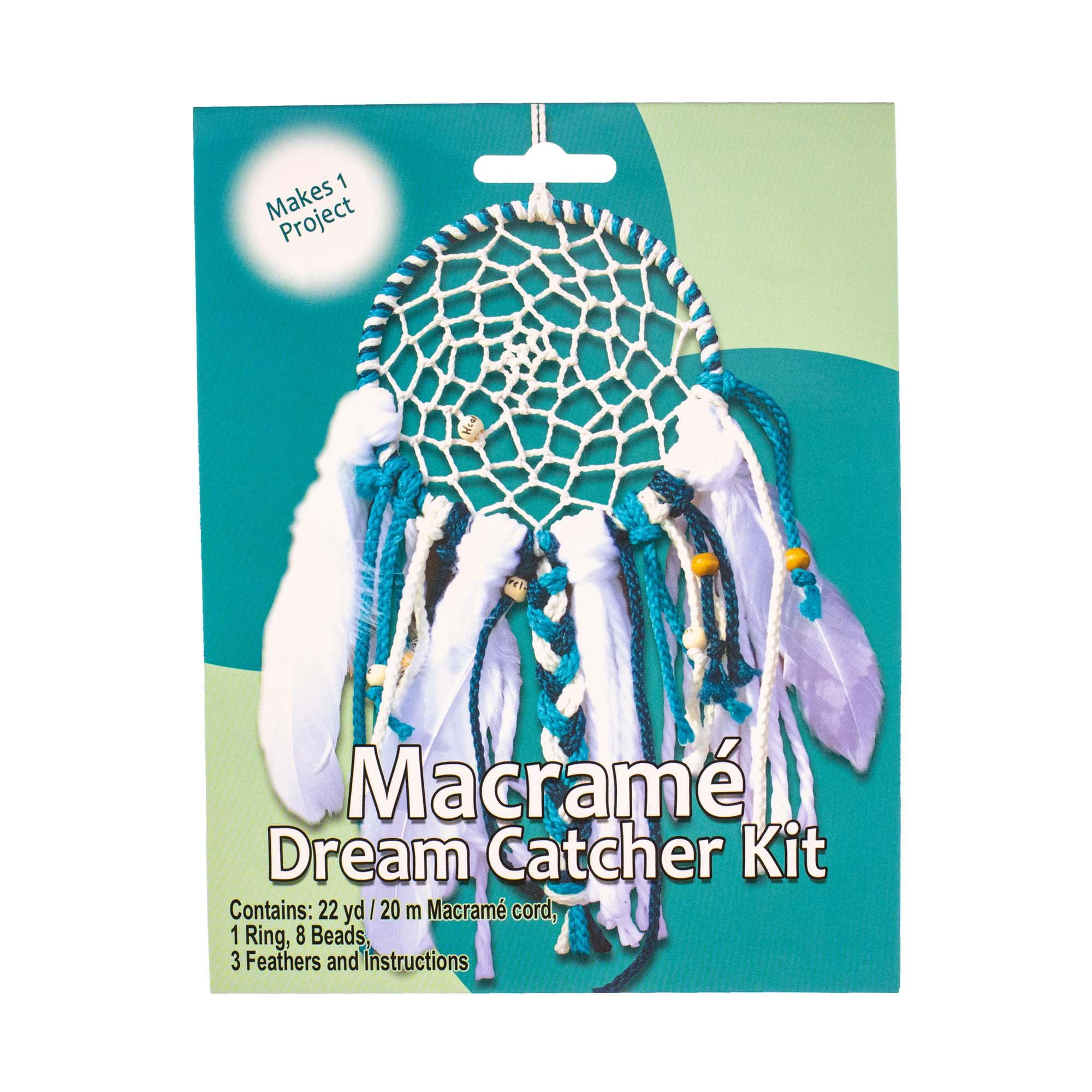 Craft County Macrame Dream Catcher Kit