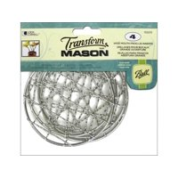 Ball Transform Mason Lid Insert Wide Frog 4pc