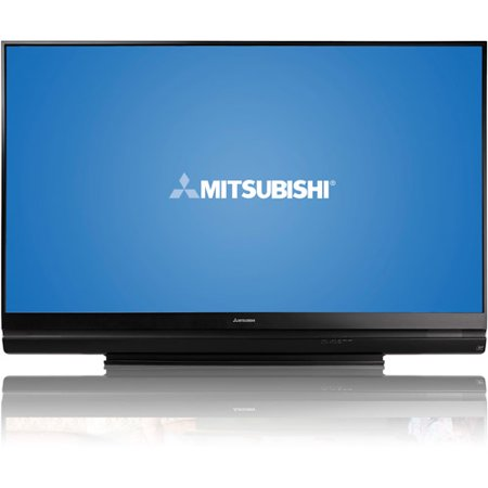 mitsubishi 73 class 3d dlp 1080p hdtv wd 73640. Black Bedroom Furniture Sets. Home Design Ideas