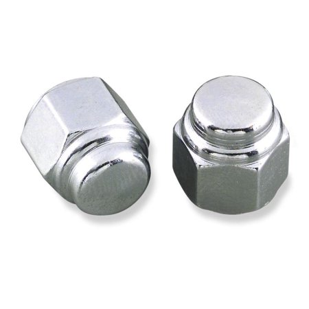 Colony 8418-3 Cap Nuts - Fine Thread - 3/8in.-24 - (3pk Brass Nut)