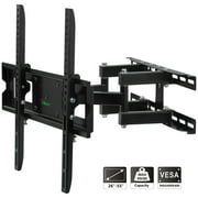 Allieroo Full Motion Articulating TV Wall Mount for Most 26-55 Inch TV up to VESA 400x400mm