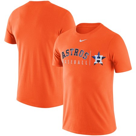 Houston Astros Nike MLB Practice T-Shirt - Orange