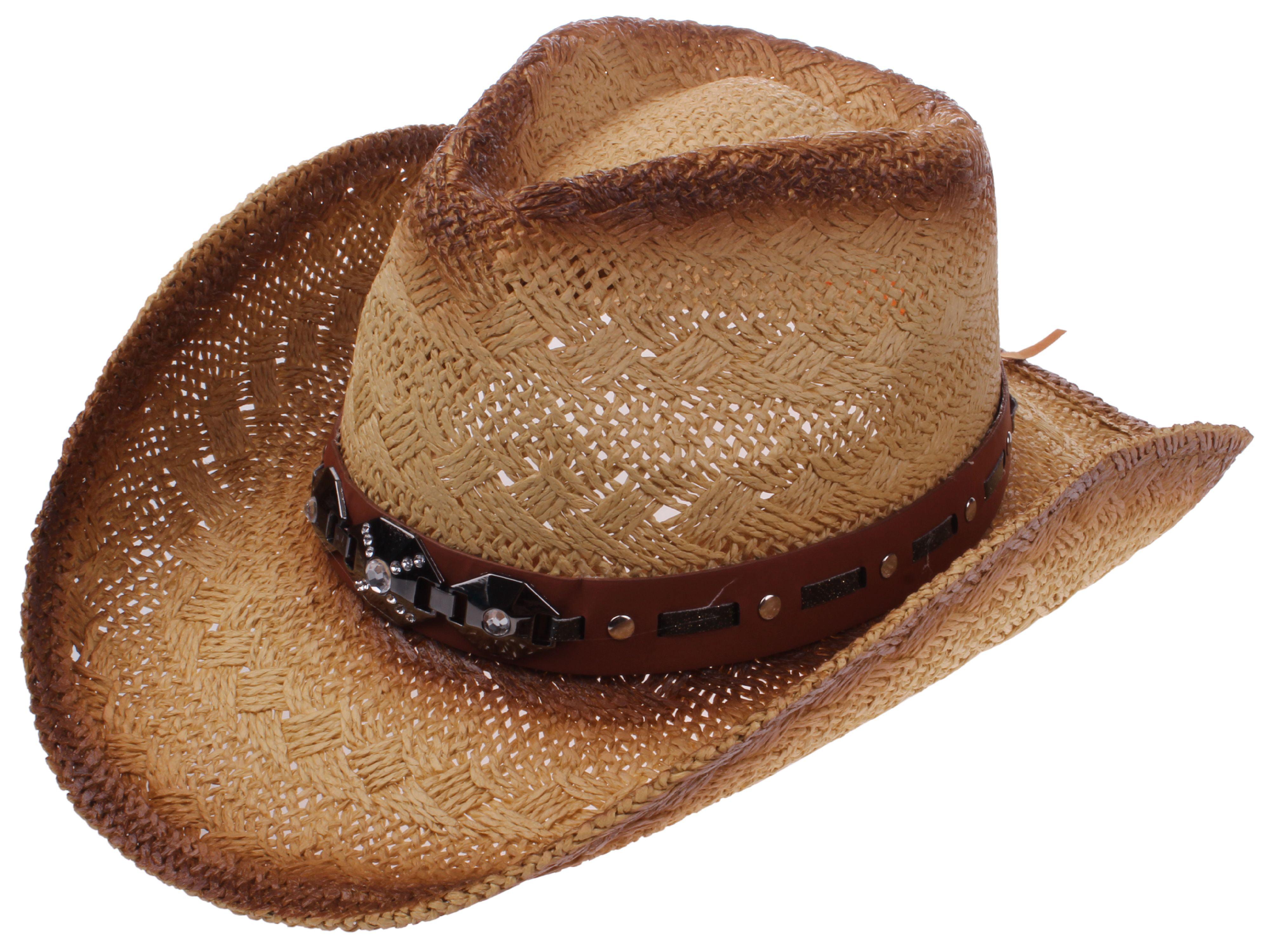 9ba9d308 Enimay Western Outback Cowboy Hat Men's Women's Style Straw Felt Canvas  Plain Black Large | X-Large - Walmart.com