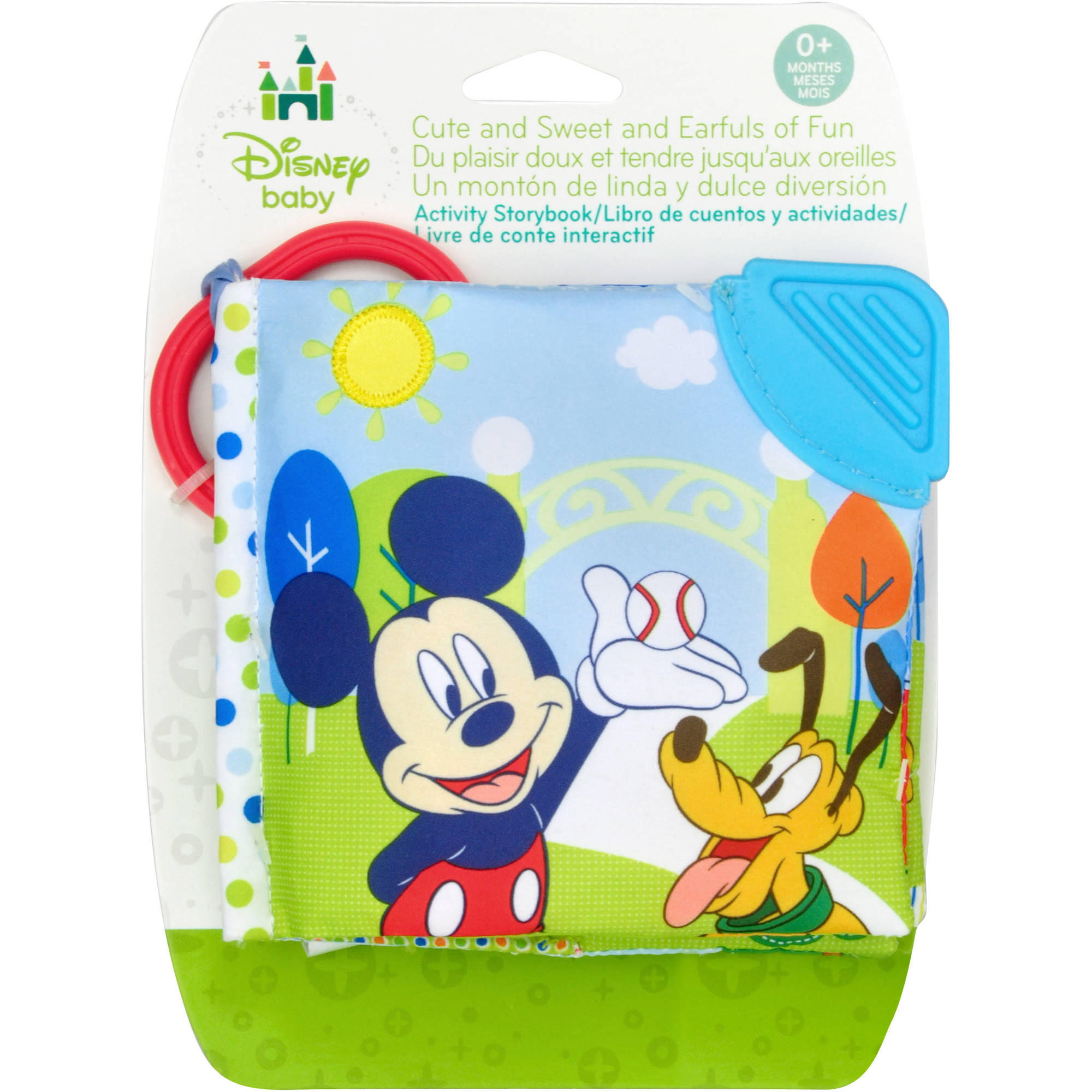 Disney Mickey Mouse At the Park Soft Book by