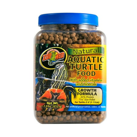 Zoo Med Aquatic Turtle Food 7.5oz (FREE SHIPPING) (Best Aquatic Turtle Food)