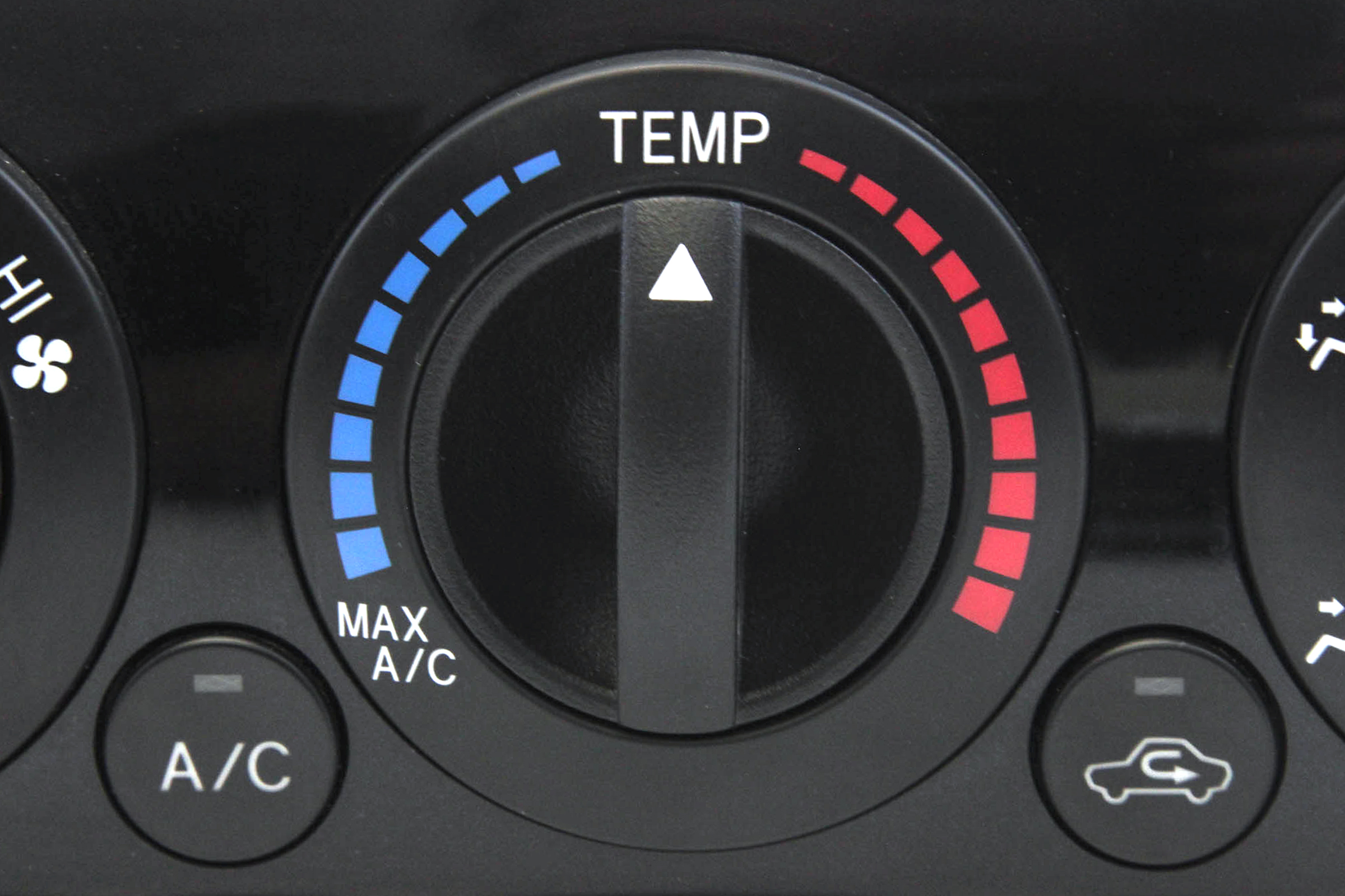 Control Knob Fan Heater A//C 2012-2015 Compatible with Toyota Tacoma Temperature HVAC Clear Black