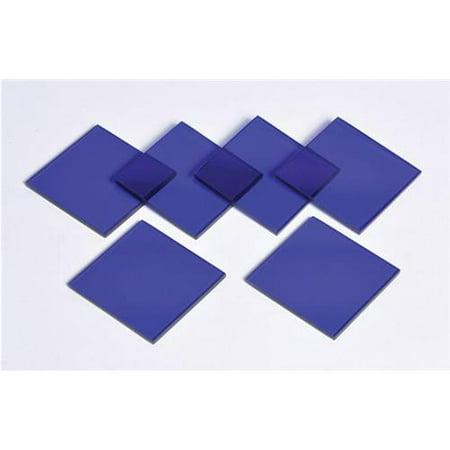 Cobalt Glass Plates