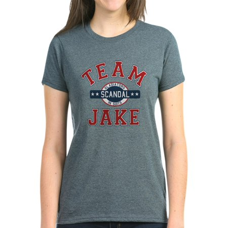 c9cd70a2 CafePress - CafePress - Scandal Team Jake T-Shirt - Women's Dark T ...