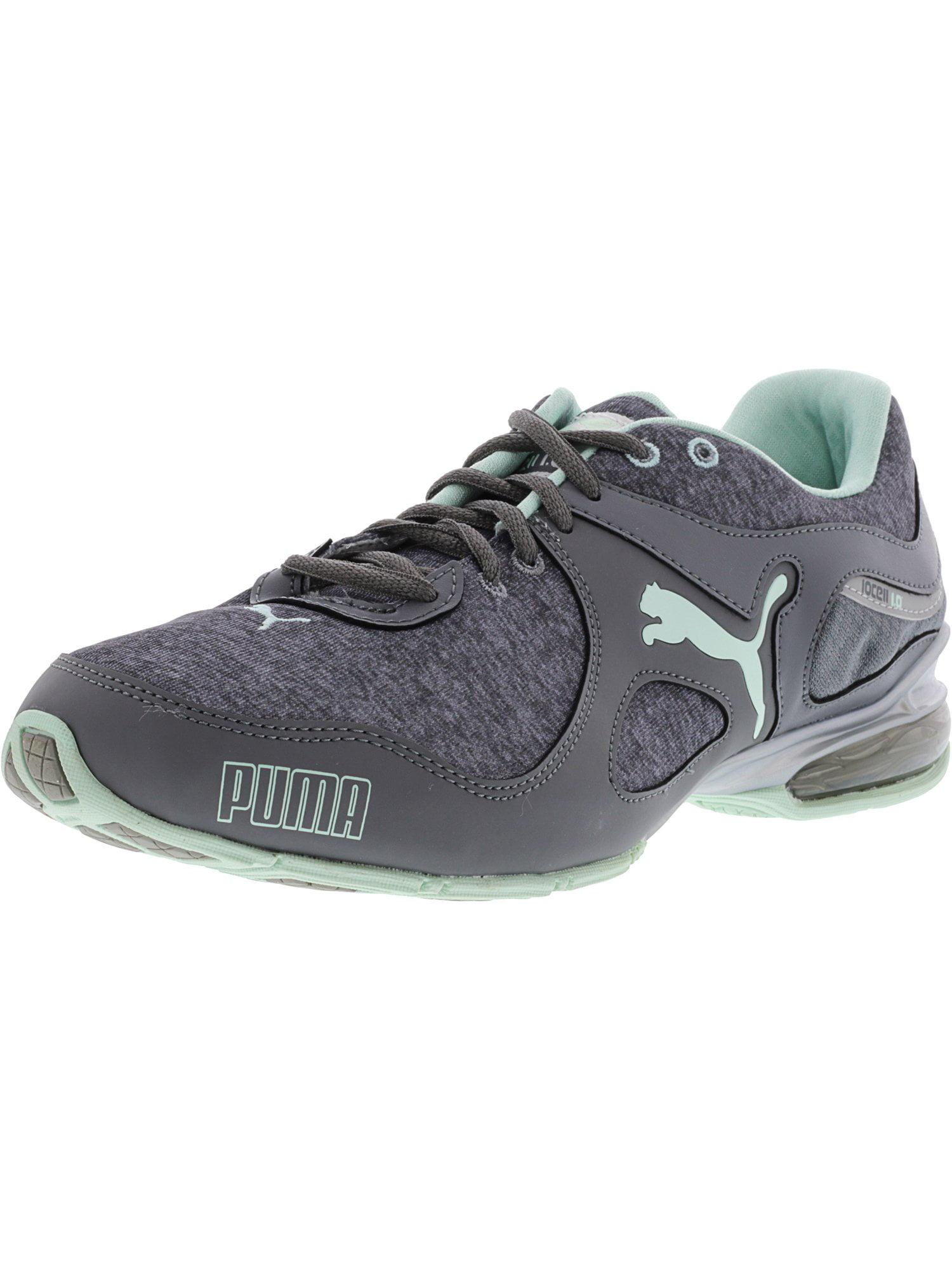 a0bf177081a PUMA - Puma Women s Cell Riaze Heather Fm Steel Gray   Drizzle Bay  Ankle-High Cross Trainer Shoe - 10.5M - Walmart.com