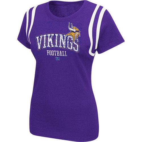 NFL - Minnesota Vikings Women's Purple Critical Call T-Shirt