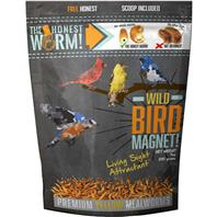WILD BIRD MAGNET WITH LIVING SIGHT ATTRACTANT