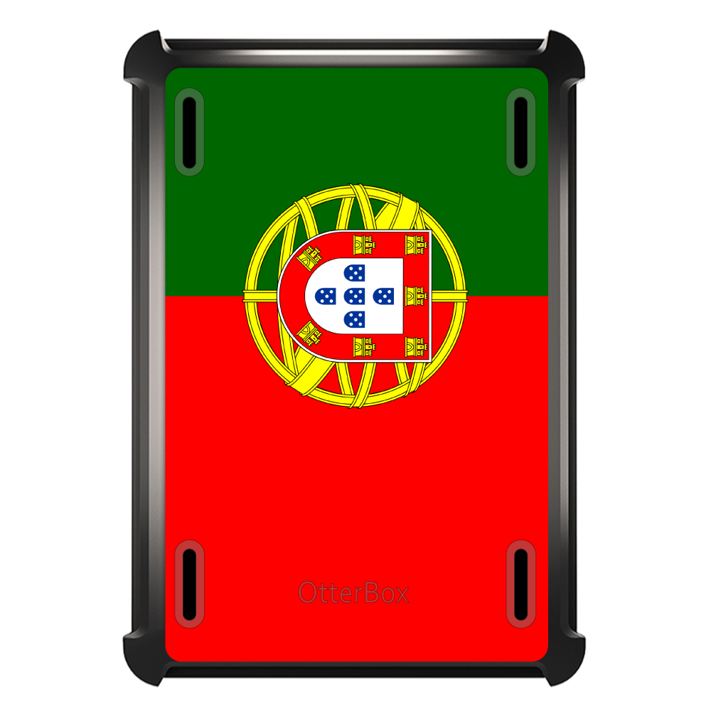 CUSTOM Black OtterBox Defender Series Case for Apple iPad Air 2 (2014 Model)... by ChargersAndCases