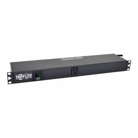 - Tripp Lite Single-Phase Metered PDU 15A Horizontal Rackmount - power distribution unit - 1.4 kW