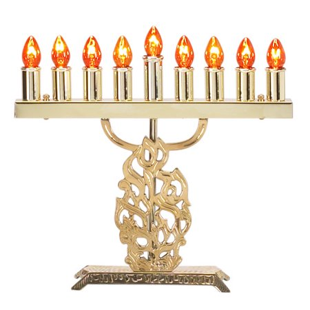 Israel Giftware Design Electric Menorah