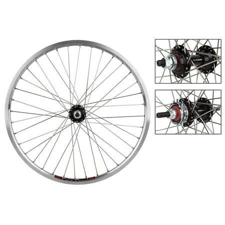 Bicycle Wheel Pair 20x1-1/8 451x16 Sun Ici-1 Pol 36 Black Ops MX3100 1sp Cassette 12T Seal Black 110mm Dti2.0sl -  Wheel Master