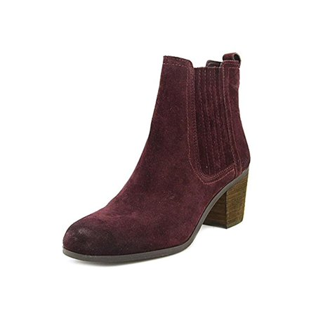 89d3c8cfd Sam Edelman Womens Lance Suede Block Heel Ankle Boots - Walmart.com