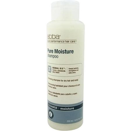 Abba Pure Moisture Shampoo, 8.45 fl oz (Abba Pure Performance Hair Care Moisture Shampoo)