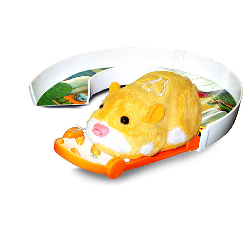Zhu Zhu Pets Skateboard/U-Turn Track Set