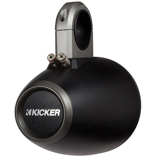 "Kicker KMTES Tower Enclosure for 6"" and 6.5"" Drivers, Pair"