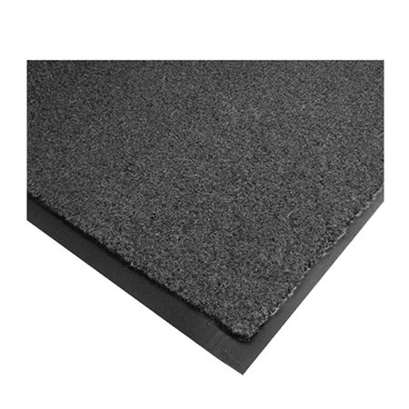Rely-On Olefin Mat Charcoal 2' X 3' Ludlow Indoor Mat