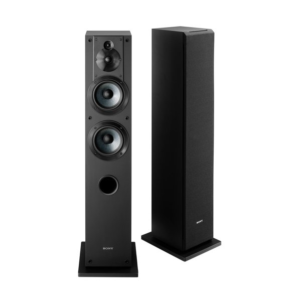Sony Ss Cs3 3 Way 4 Driver Floor Standing Speaker Each Walmart
