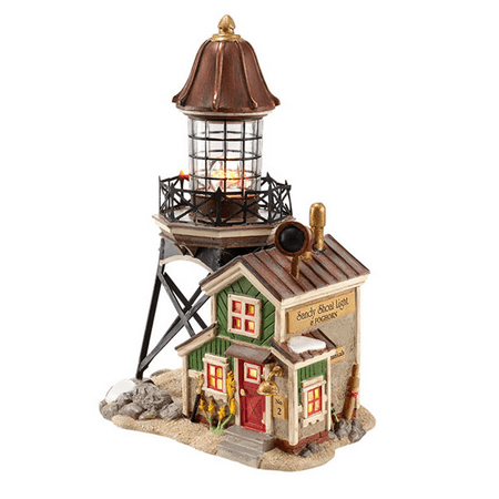 Department 56 New England Village Sandy Shoal Lighthouse