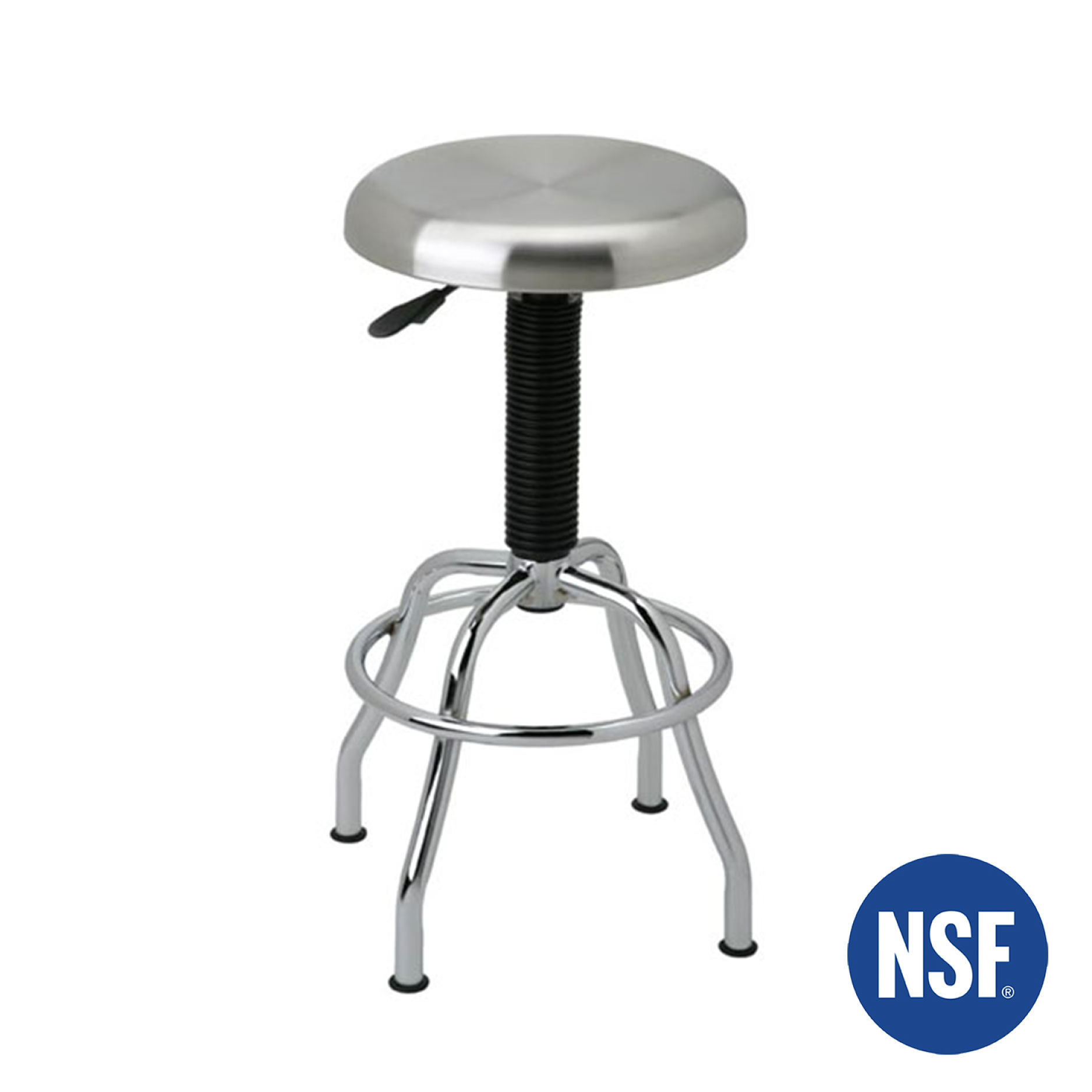 Stainless Steel Pneumatic Work Stool