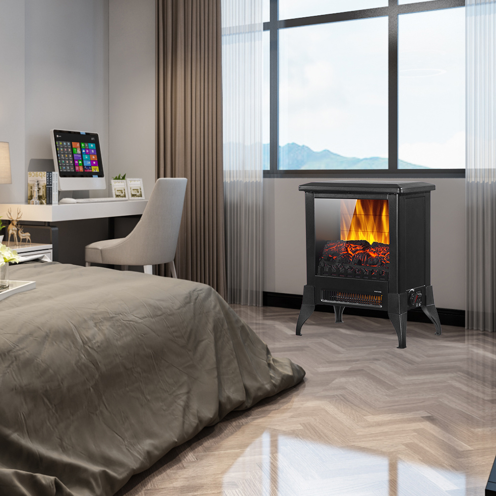 Indoor Electric Fireplace, Infrared Free Standing ...