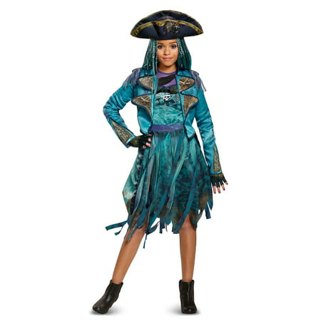 Disney's Descendants 2 - Uma Deluxe Isle Look Child Costume - 70s Look For Kids