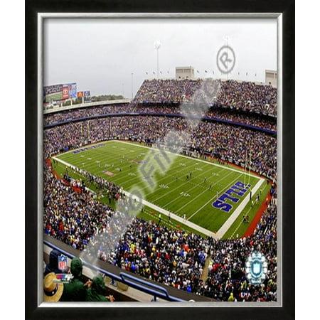 Ralph Wilson Stadium 2008 Framed Photographic Print Wall Art  - 26.5x22.5