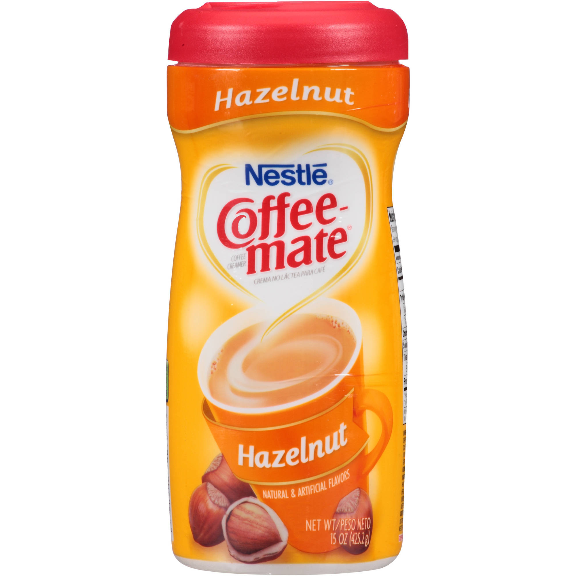 Nestlé Coffee-mate Hazelnut Coffee Creamer 15 oz. Plastic Container