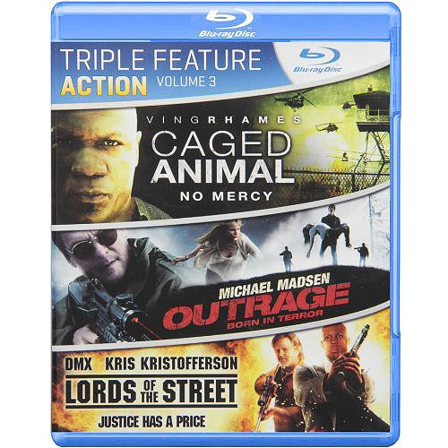 Action Triple Feature, Volume Three (Blu-ray)