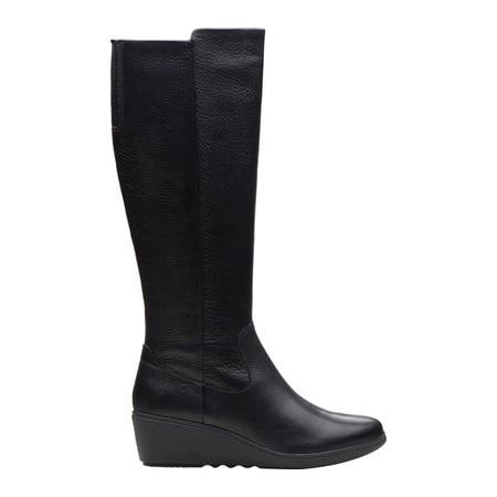 6307cd673462 Women s Clarks Un Tallara Esa Knee High Boot - Walmart.com