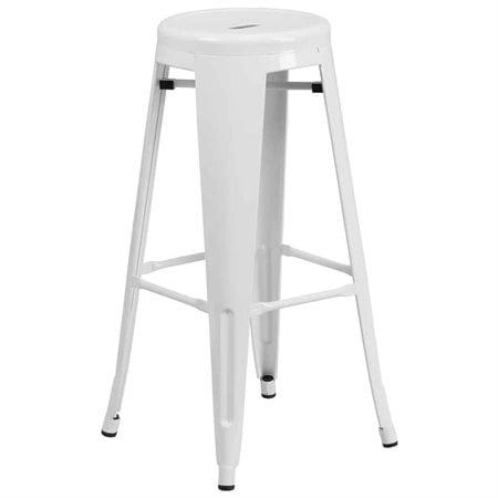 Terrific Flash Furniture Carlisle 30 In Metal Bar Stool Creativecarmelina Interior Chair Design Creativecarmelinacom